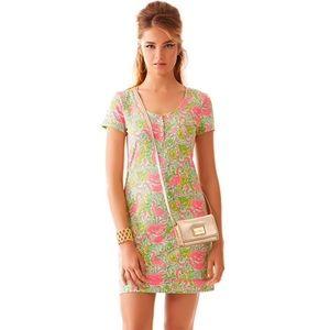 Lilly Pulitzer Britton Short Sleeve Henley Dress